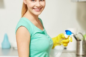 Küche putzen