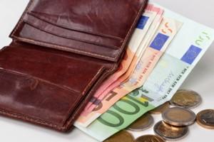 Brieftasche, Geld, zahlen
